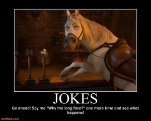 a-horse-cant-stand-that-old-joke-anymore-horse-long-face-jok-demotivational-posters-1306795814